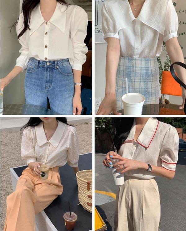 5 kiểu áo blouse trắng phủ sóng hè này: Diện lên auto sang chảnh, lên hình sống ảo đẹp mãn nhãn-2