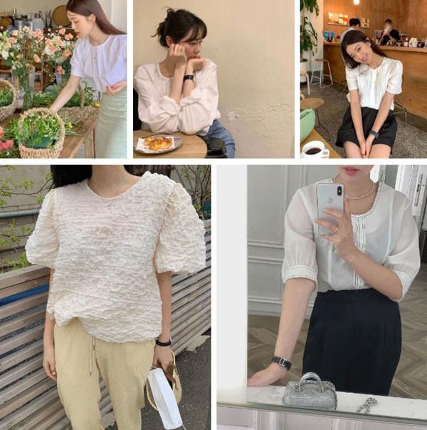 5 kiểu áo blouse trắng phủ sóng hè này: Diện lên auto sang chảnh, lên hình sống ảo đẹp mãn nhãn-5