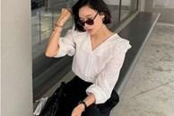 5 kiểu áo blouse trắng phủ sóng hè này: Diện lên 'auto' sang chảnh, lên hình sống ảo đẹp mãn nhãn