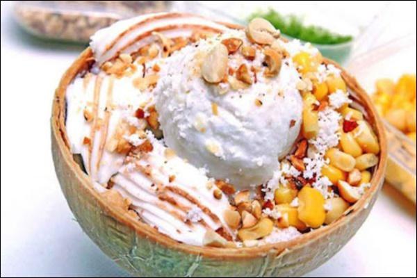 Kem sữa dừa không dùng trứngngon đỉnh cao, món ăn vặtngọt ngào đậm hương vị tuổi thơ-4
