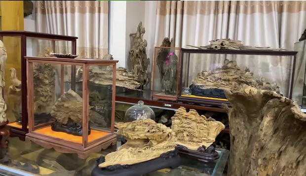 Giữa ồn ào Nhà thờ Tổ, NS Hoài Linh bị netizen soi lại BST trầm hương trị giá trăm tỷ toàn từ gỗ hiếm trong phòng riêng-5