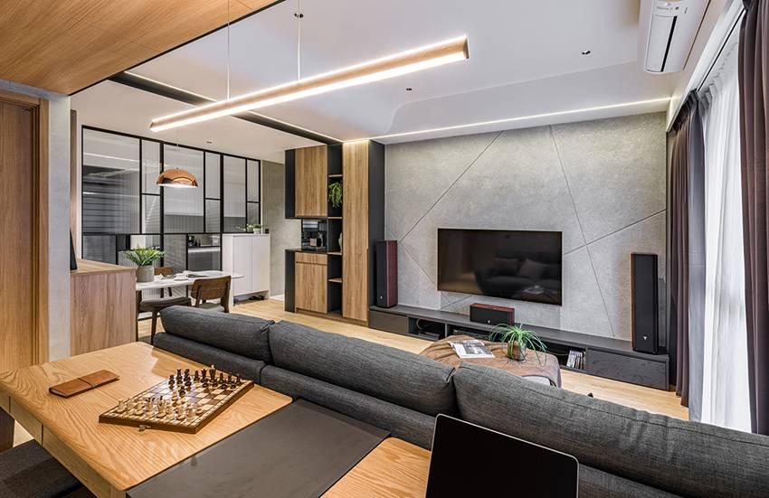Ngôi nhà với lối thiết kế thông minh, chi tiết gây ấn tượng mạnh là phòng ngủ thiết kế đằng sau tủ quần áo-1