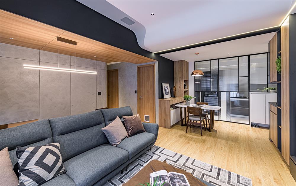 Ngôi nhà với lối thiết kế thông minh, chi tiết gây ấn tượng mạnh là phòng ngủ thiết kế đằng sau tủ quần áo-3