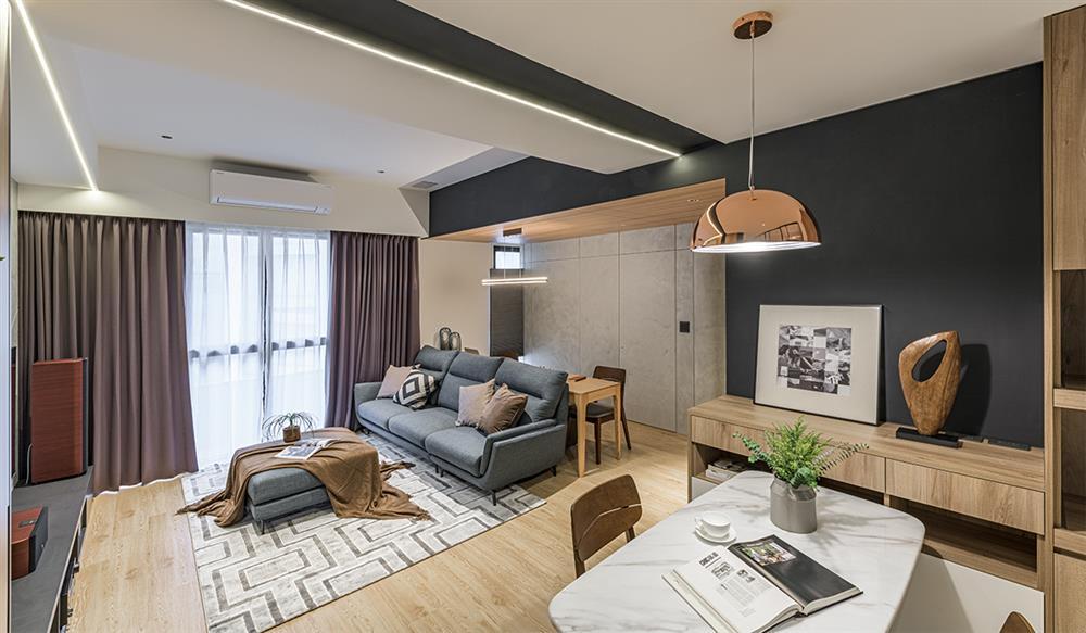 Ngôi nhà với lối thiết kế thông minh, chi tiết gây ấn tượng mạnh là phòng ngủ thiết kế đằng sau tủ quần áo-2