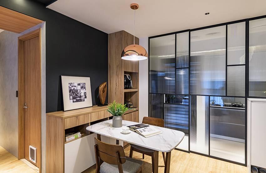 Ngôi nhà với lối thiết kế thông minh, chi tiết gây ấn tượng mạnh là phòng ngủ thiết kế đằng sau tủ quần áo-5