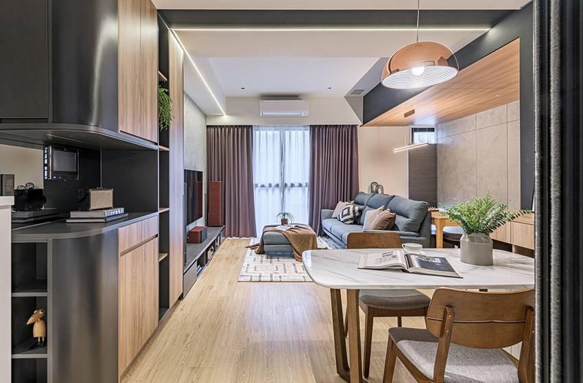 Ngôi nhà với lối thiết kế thông minh, chi tiết gây ấn tượng mạnh là phòng ngủ thiết kế đằng sau tủ quần áo-6