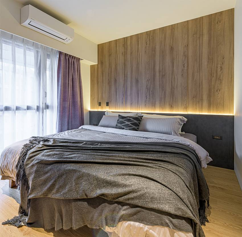 Ngôi nhà với lối thiết kế thông minh, chi tiết gây ấn tượng mạnh là phòng ngủ thiết kế đằng sau tủ quần áo-11