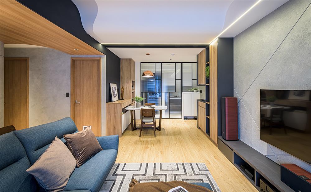 Ngôi nhà với lối thiết kế thông minh, chi tiết gây ấn tượng mạnh là phòng ngủ thiết kế đằng sau tủ quần áo-14