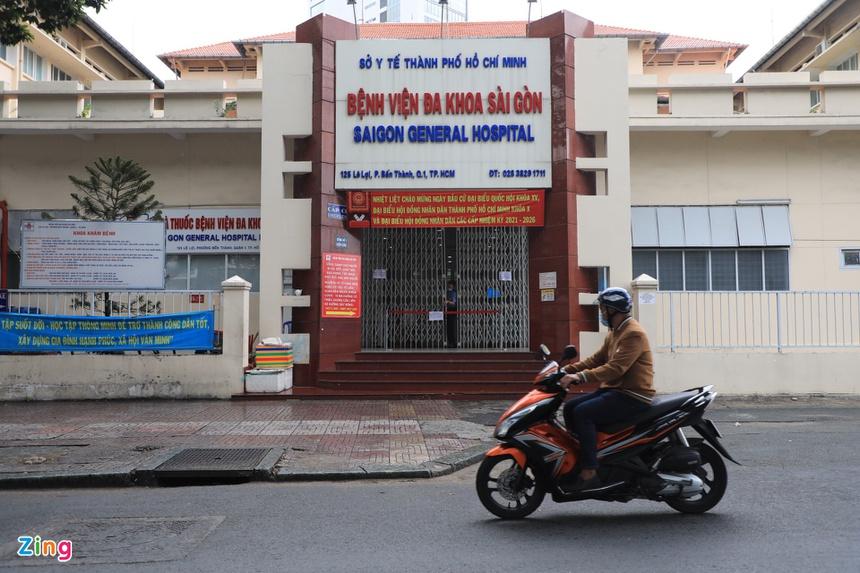 5 F0 đến khám, BV Đa khoa Sài Gòn tạm dừng tiếp nhận bệnh nhân-1