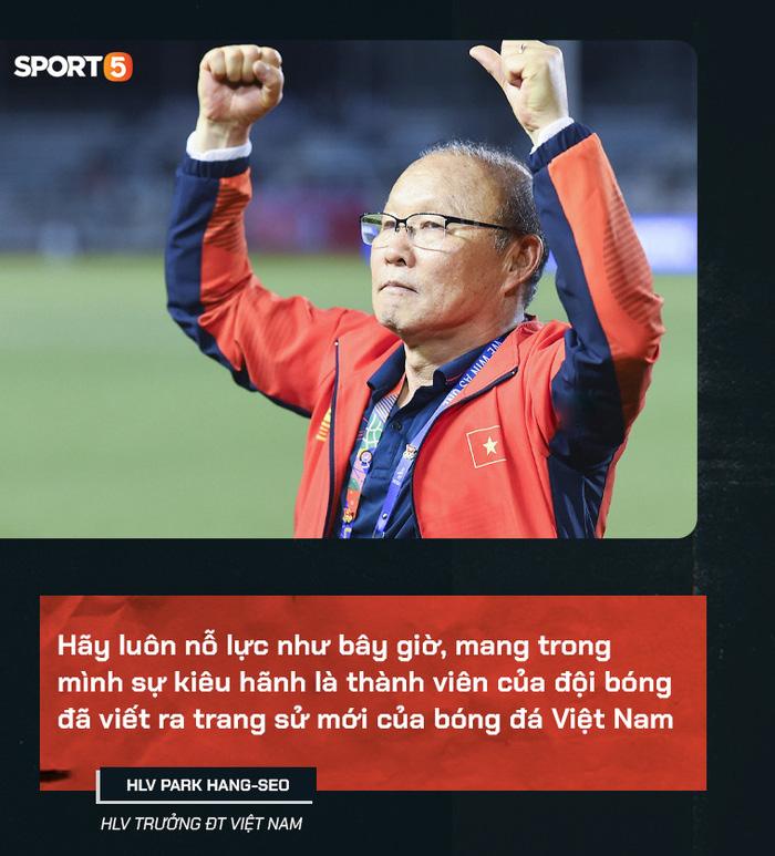 HLV Park Hang-seo viết thư gửi tuyển thủ Việt Nam trước ngày tạm chia tay: Mong các bạn luôn nỗ lực, mang trong mình sự kiêu hãnh-1