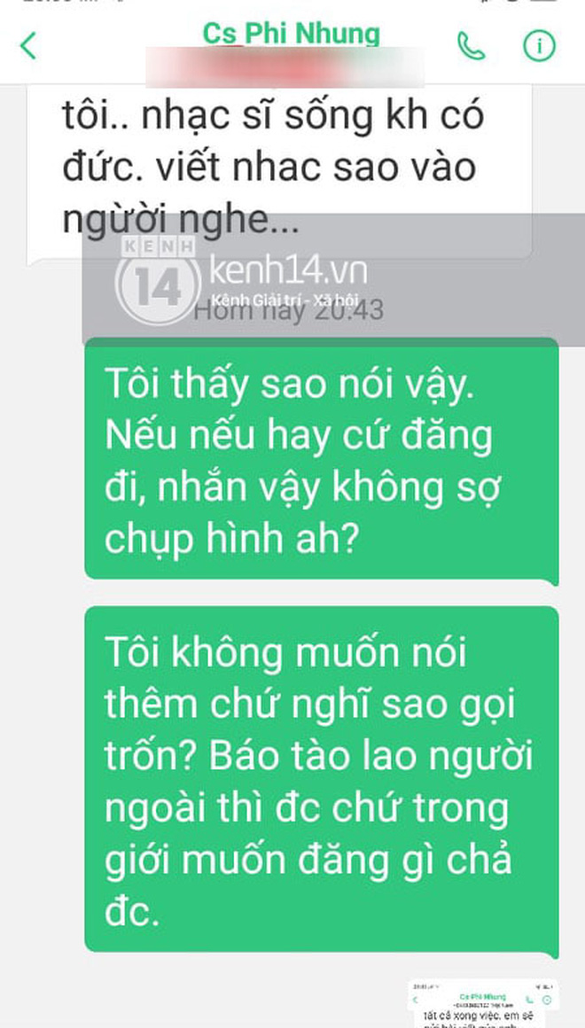 Phía Phi Nhung chính thức lên tiếng sau khi bị nhạc sĩ Chim Trắng Mồ Côi đăng đàn tố uy hiếp và đe doạ-2