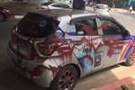 Đỗ xe tranh thủ đi ăn bún trong ngày đầu Hà Nội nới lỏng, tài xế taxi nước mắt lưng tròng khi quay lại