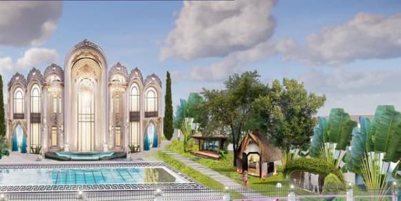 Vũ Khắc Tiệp khoe biệt thự như cung điện đã hoàn thiện, rủ Ngọc Trinh về sống cùng-4