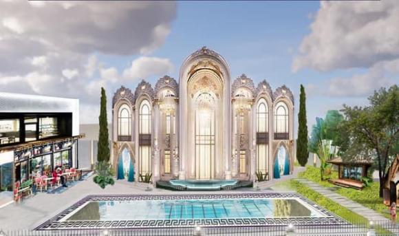 Vũ Khắc Tiệp khoe biệt thự như cung điện đã hoàn thiện, rủ Ngọc Trinh về sống cùng-6
