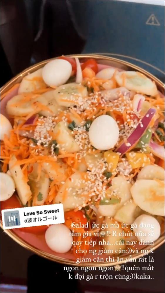 Trình nấu ăn của Quỳnh Kool ngày càng lên tay, từ món mặn đến kem tráng miệng đều xử đẹp ngon ơ-3