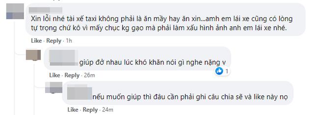 """Tặng gạo cho tài xế taxi giữa mùa dịch, Hoa hậu đại gia Phương Lê lại bị netizen đáp trả: Tài xế không phải ăn xin""""-2"""