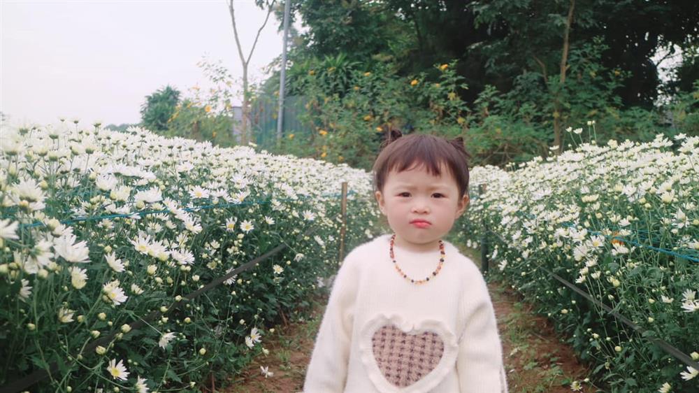 Háo hức rủ cháu gái 3 tuổi chụp ảnh cùng hoa sen, bác gái dở khóc dở cười với cái kết hài nhức nách-21