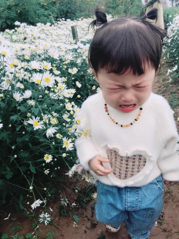 Háo hức rủ cháu gái 3 tuổi chụp ảnh cùng hoa sen, bác gái dở khóc dở cười với cái kết hài nhức nách-22