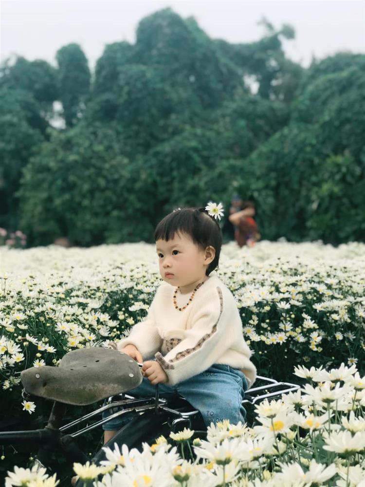Háo hức rủ cháu gái 3 tuổi chụp ảnh cùng hoa sen, bác gái dở khóc dở cười với cái kết hài nhức nách-25