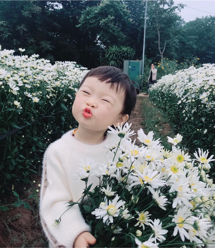 Háo hức rủ cháu gái 3 tuổi chụp ảnh cùng hoa sen, bác gái dở khóc dở cười với cái kết hài nhức nách-26