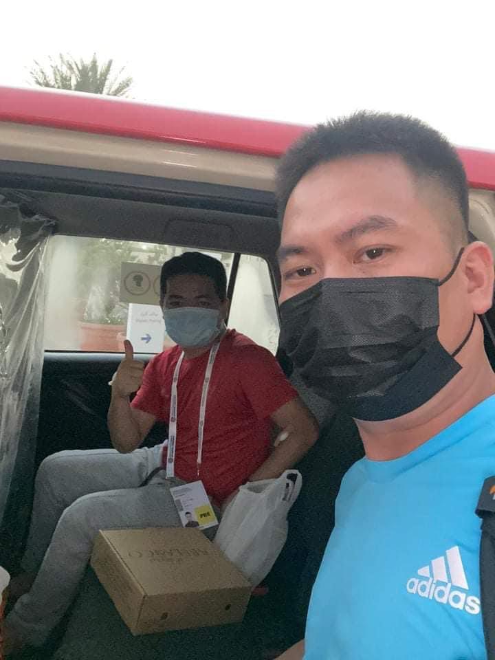 Phóng viên mắc Covid-19 khi đưa tin đội tuyển Việt Nam ở UAE vẫn phải thở oxy-2