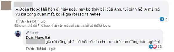 Ông Đoàn Ngọc Hải khoe đã về đến nhà ở Sài Gòn, bị bạn trêu già rồi liền đáp trả một câu làm ai cũng nể-2