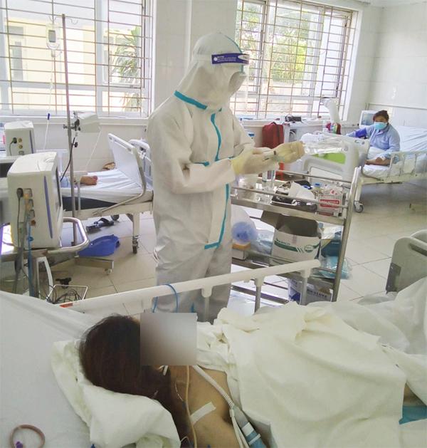 Một bệnh nhân Covid-19 ở Nghệ An tiên lượng tử vong cao-1