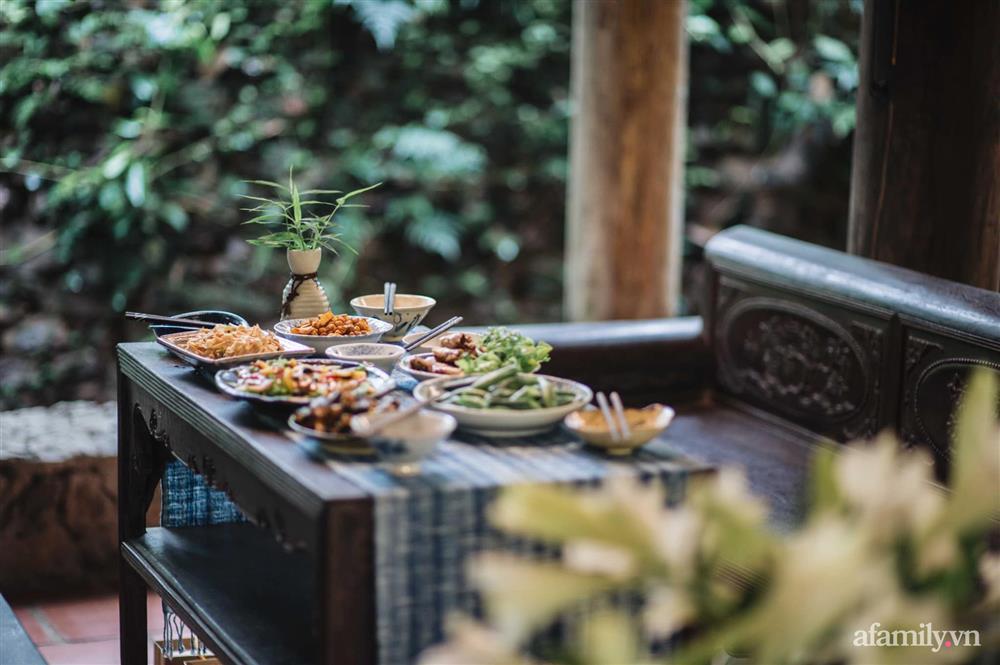 Cuộc sống yên bình trong ngôi nhà nhỏ và khu vườn xanh mát bóng cây ở ngoại thành Hà Nội-11