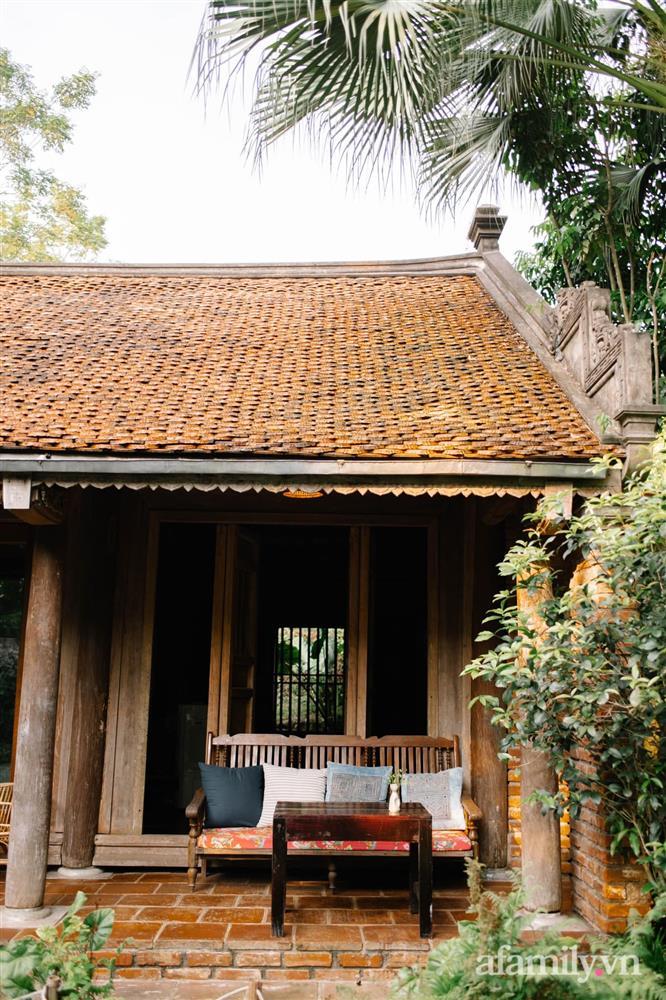 Cuộc sống yên bình trong ngôi nhà nhỏ và khu vườn xanh mát bóng cây ở ngoại thành Hà Nội-18