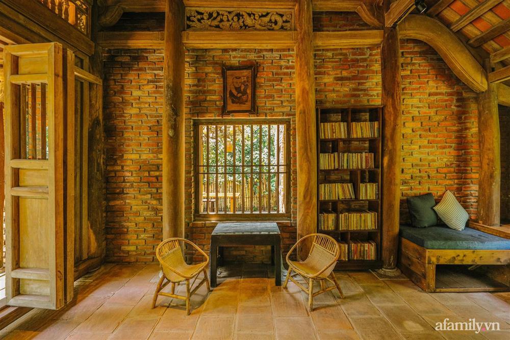 Cuộc sống yên bình trong ngôi nhà nhỏ và khu vườn xanh mát bóng cây ở ngoại thành Hà Nội-19