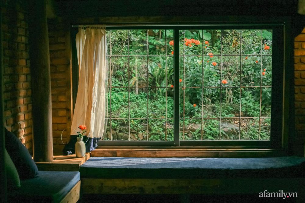 Cuộc sống yên bình trong ngôi nhà nhỏ và khu vườn xanh mát bóng cây ở ngoại thành Hà Nội-20