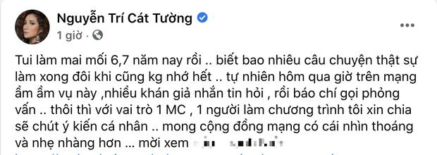 2 sao Việt gây tranh cãi nảy lửa khi lên tiếng bảo vệ cô gái đòi bạn trai cho 500 triệu, MC Cát Tường còn bị tố cấu kết để câu view?-3