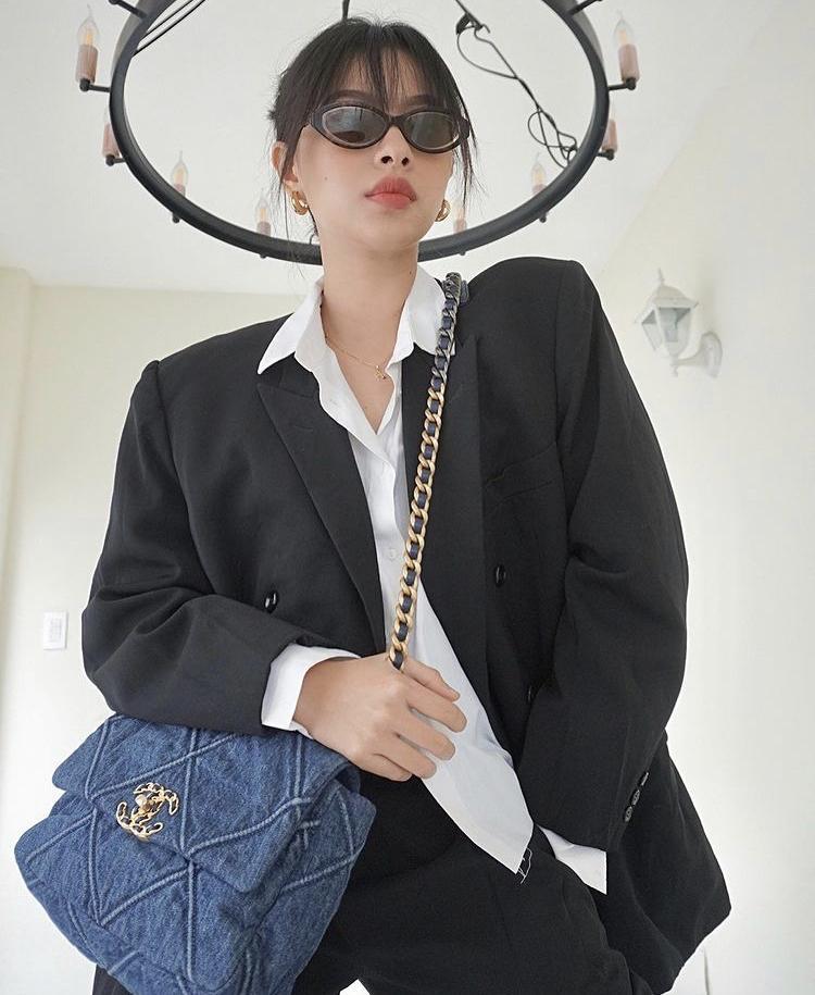 Tú Hảo xuất chiêu phối blazer đa phong cách cho nàng sành điệu-6