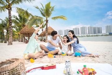 Gia đình trẻ 'chuộng' thuê căn hộ Vinhomes Ocean Park