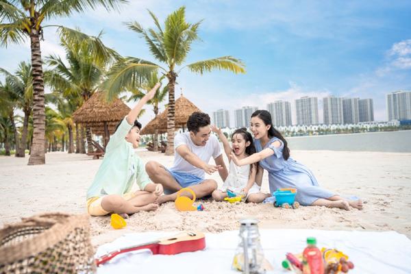 Gia đình trẻ 'chuộng' thuê căn hộ Vinhomes Ocean Park-1
