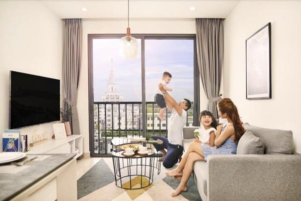 Gia đình trẻ 'chuộng' thuê căn hộ Vinhomes Ocean Park-2