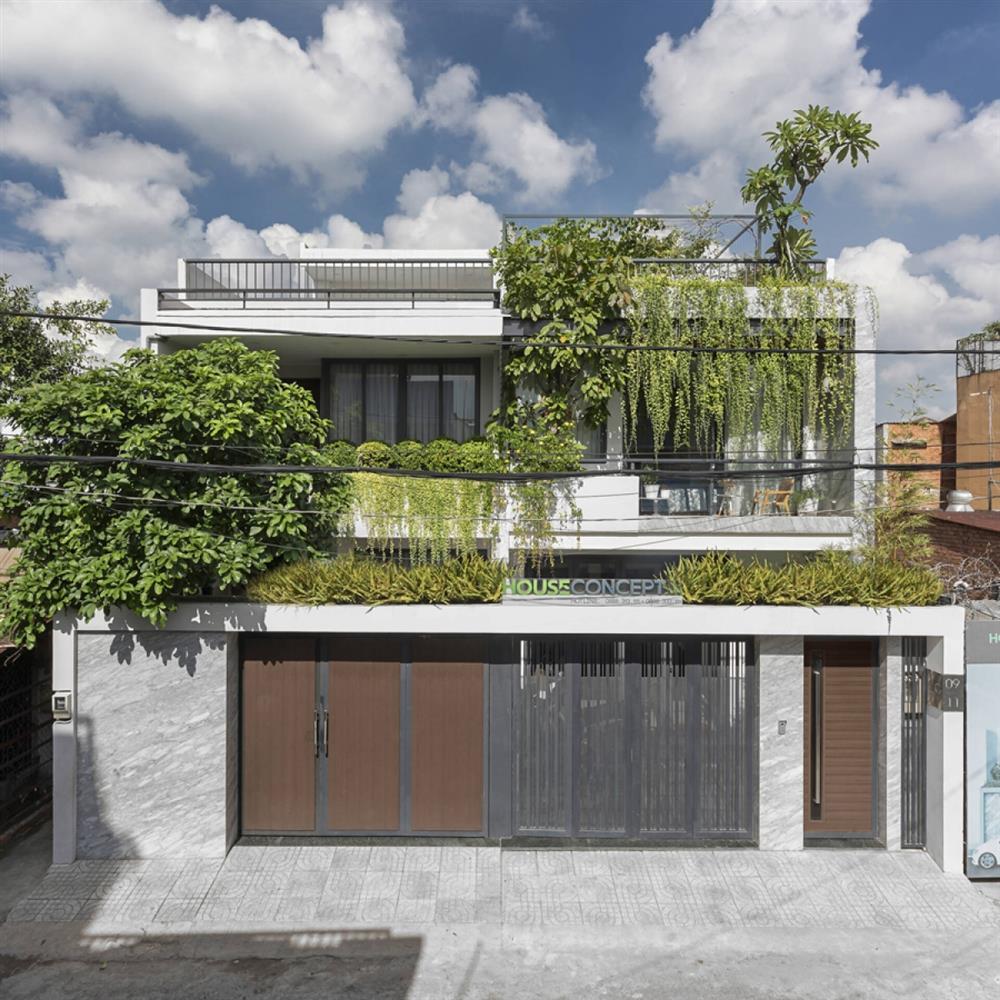 Thú vị ngôi nhà kết nối mặt tiền với nhà hàng xóm-1