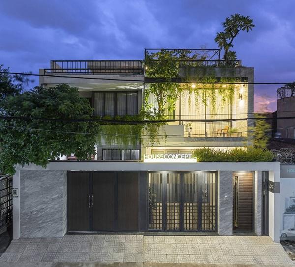 Thú vị ngôi nhà kết nối mặt tiền với nhà hàng xóm-12