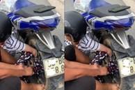 Cô gái gặp họa vì áo chống nắng khi đi xe máy, cả nhóm người xúm vào giải cứu