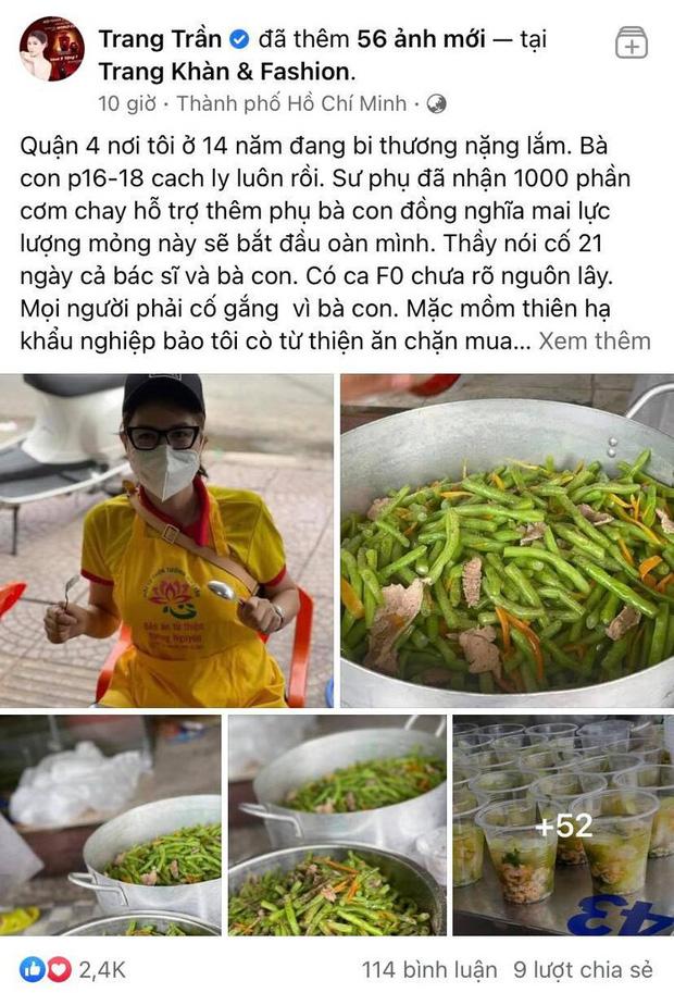 Trang Trần vẫn ngang nhiên xù lông đáp trả khi bị netizen nhắc chuyện lên bản tin VTV và tin đồn cò tiền từ thiện để mua nhà lầu-1