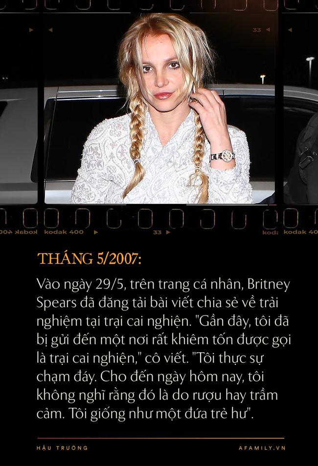 Nhìn lại cột mốc 2007 đen tối cùng cực trong cuộc đời công chúa nhạc Pop Britney Spears-4