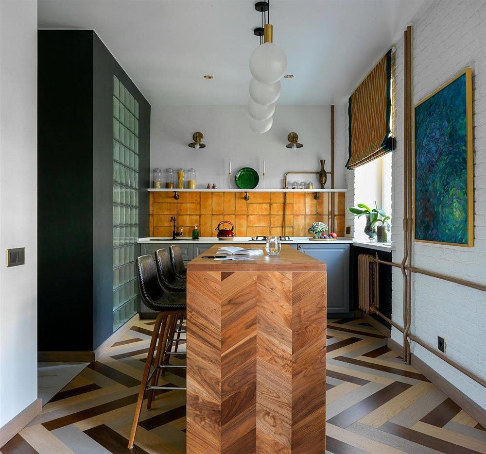 8 mẫu thiết kế đẹp mê cho gian bếp nhỏ, vừa tiết kiệm chi phí nhưng vẫn tiện nghi bất ngờ-2