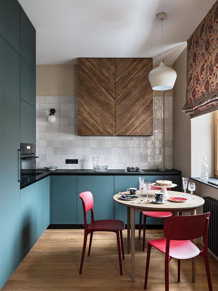 8 mẫu thiết kế đẹp mê cho gian bếp nhỏ, vừa tiết kiệm chi phí nhưng vẫn tiện nghi bất ngờ-3