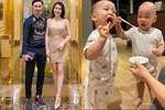 Bà xã MC Thành Trung khéo chăm và rèn hai quý tử sinh đôi, chưa được 2 tuổi đã vệ sinh răng miệng chuyên nghiệp