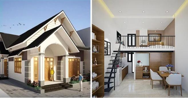 9 mẫu nhà cấp 4 đẹp long lanh, 3-4 phòng ngủ giá chỉ từ 350 triệu đồng cho vợ chồng trẻ ít tiền-1