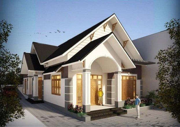 9 mẫu nhà cấp 4 đẹp long lanh, 3-4 phòng ngủ giá chỉ từ 350 triệu đồng cho vợ chồng trẻ ít tiền-3