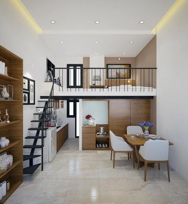9 mẫu nhà cấp 4 đẹp long lanh, 3-4 phòng ngủ giá chỉ từ 350 triệu đồng cho vợ chồng trẻ ít tiền-7