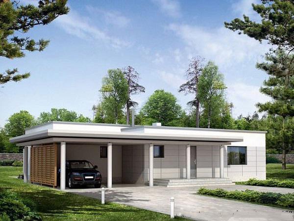 9 mẫu nhà cấp 4 đẹp long lanh, 3-4 phòng ngủ giá chỉ từ 350 triệu đồng cho vợ chồng trẻ ít tiền-10