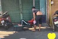 Hành động bất ngờ của người chồng bán rau khi thấy vợ nằm ngủ dưới nắng khiến dân mạng hết lời khen ngợi