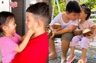 Con trai Lê Phương - Quách Ngọc Ngoan từng khiến mẹ lo lắng, có em gái lạitình cảm, ấm áp, nhìn cách yêu thương em mà tan chảy